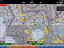 ADS-B traffic information during flight trials (iPad display)
