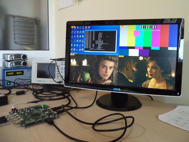Digital Video Scaling Engine