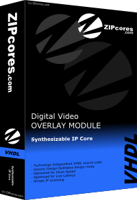 Digital Video Overlay Module