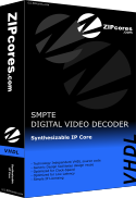 SMPTE Decoder with Colour-Space Converter