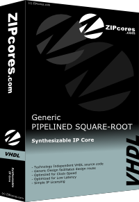 Pipelined Square Root