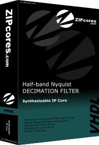 Half-band Nyquist Decimation Filter
