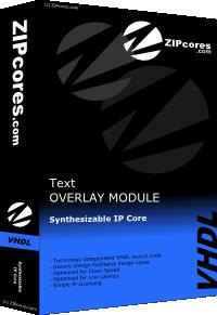Text Overlay Module