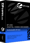 BT656 Decoder with Colour-Space Converter